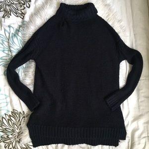 Zara knit oversized knitted long sleeve turtleneck